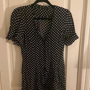 Zara polka dot summer dress